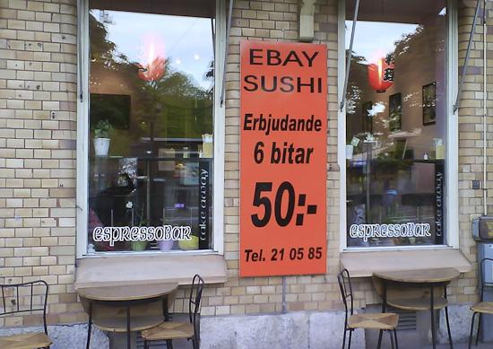 Ebay Sushi