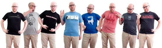 T-shirtarna