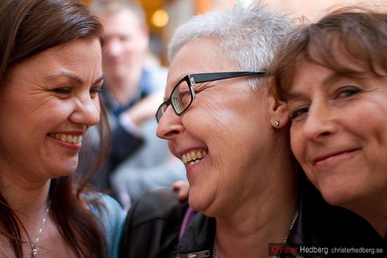Tina, Ywonne och Karin. Foto: Christer Hedberg |  christerhedberg.se