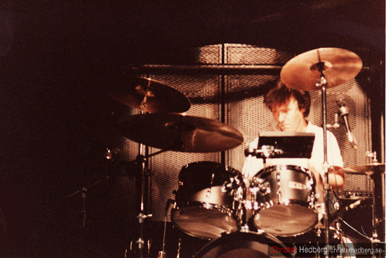 Ultravox @ Lisebergshallen 1984. Foto: Christer Hedberg | christerhedberg.se