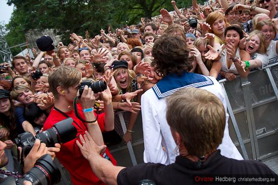Håkan Hellström @ Way Out West 2010. Foto: Christer Hedberg | christerhedberg.se