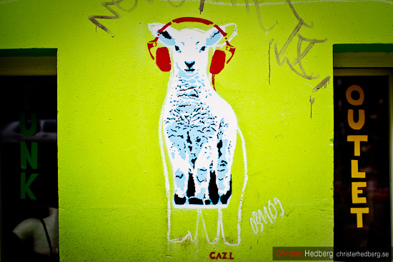 Sheep Outlet @ Kastanienallee, Berlin. Foto: Christer Hedberg | christerhedberg.se