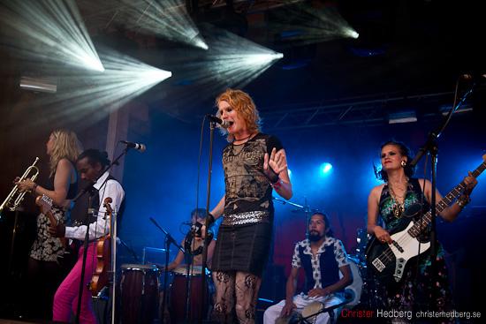 Billy the Vision & The Dancers @ Emmabodafestivalen. Foto: Christer Hedberg | christerhedberg.se