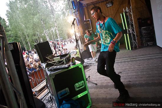 Lissi Dancefloor Disaster @ Emmabodafestivalen. Foto: Christer Hedberg | christerhedberg.se