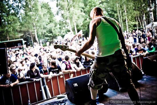 Mob 47 @ Emmabodafestivalen 2010. Foto: Christer Hedberg |  christerhedberg.se