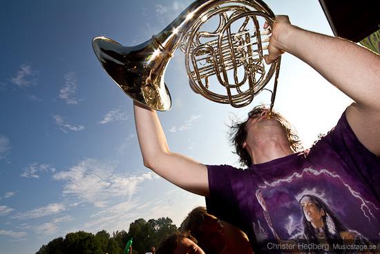 French Horn Rebellion @ Emmabodafestivalen 2010. Foto: Christer Hedberg | christerhedberg.se