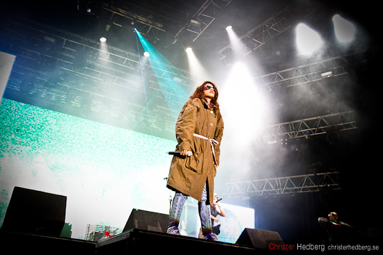 M.I.A. @ Way Out West 2010. Foto: Christer Hedberg | christerhedberg.se