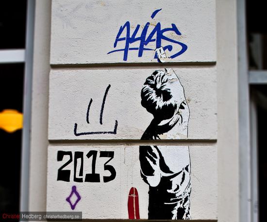 Grafitti som skapar grafitti. Foto: Christer Hedberg | christerhedberg.se