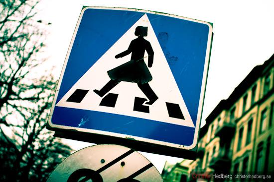 Här går hon. Foto: Christer Hedberg | christerhedberg.se