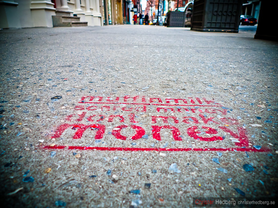 Muffinmilk. Scared money don't make money. Foto: Christer Hedberg | christerhedberg.se