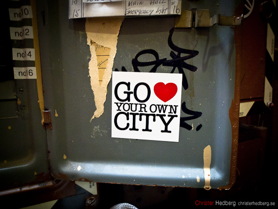 Go love your own city. Foto: Christer Hedberg | christerhedberg.se