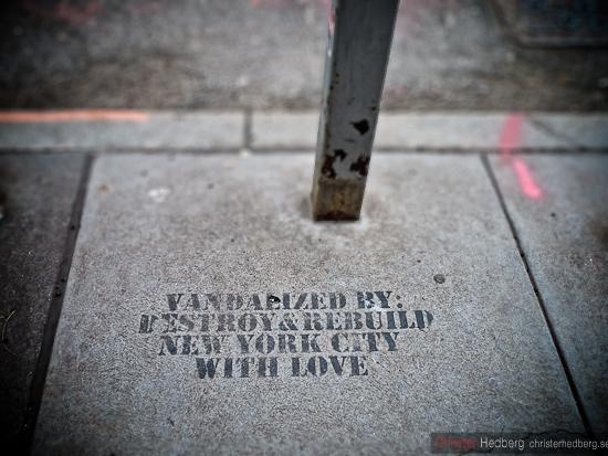 Vandalized by: Destroy&Rebuild. Foto: Christer Hedberg | christerhedberg.se