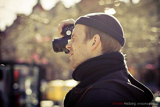Fotograf. Foto: Christer Hedberg | christerhedberg.se