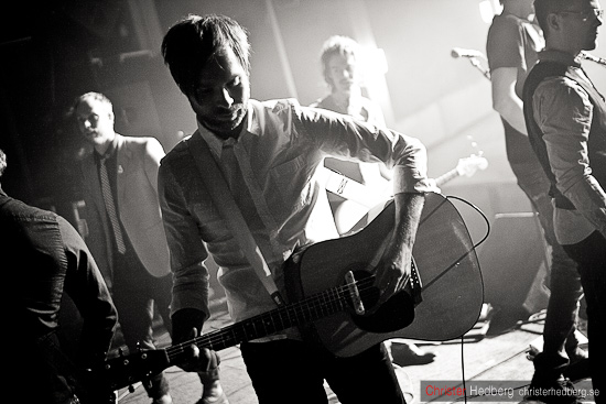 Soundcheck I'm from Barcelona @ Popadelica. Foto: Christer Hedberg | christerhedberg.se