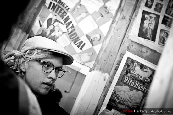 Backstage med I'm from Bacelona @ Popadelica. Foto: Christer Hedberg | christerhedberg.se