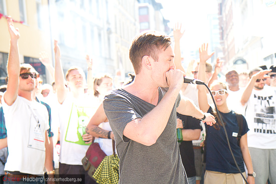 Professor P & DJ Akilles @ Andra LÃ¥ngdagen. Foto: Christer Hedberg | christerhedberg.se