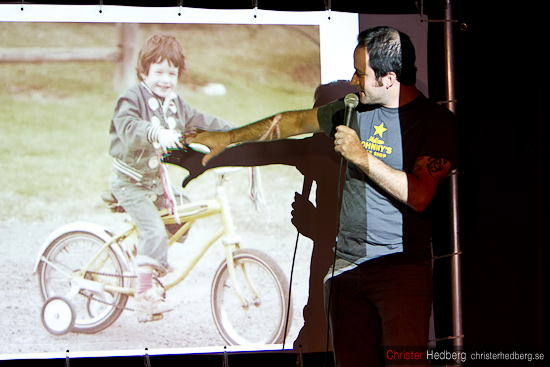 Bike Snob NYC @ Göteborgs Cykelfestival. Foto: Christer Hedberg | christerhedberg.se