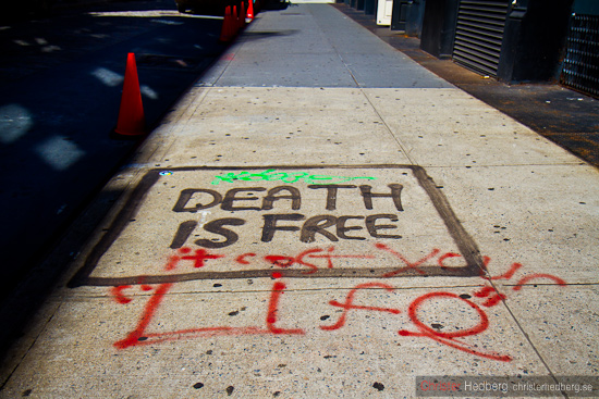Death is free. Foto: Christer Hedberg | christerhedberg.se