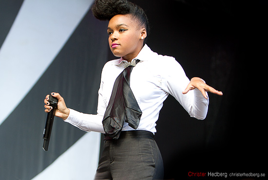 Janelle Monáe @ Way Out West 2011. Foto: Christer Hedberg | christerhedberg.se