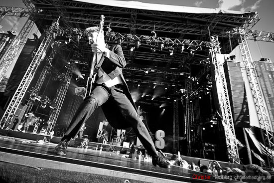 The Hives @ Way Out West 2011. Foto: Christer Hedberg | christerhedberg.se