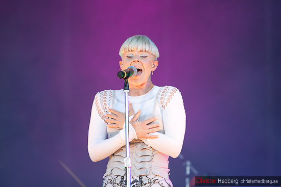Robyn @ Way Out West. Foto: Christer Hedberg | christerhedberg.se
