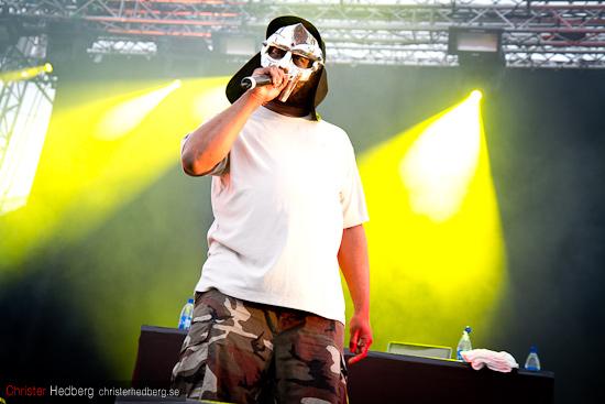 MF Doom @ Way Out West 2011. Foto: Christer Hedberg | christerhedberg.se