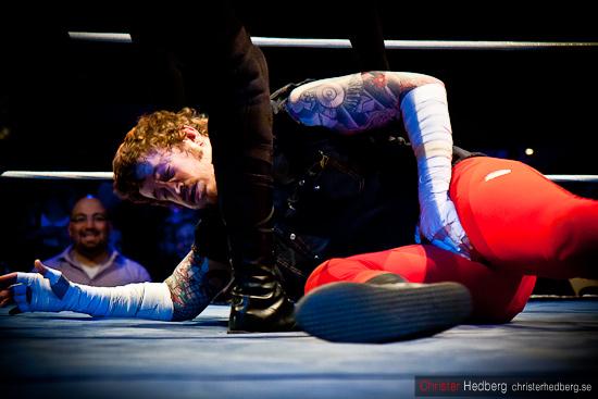 GBG Wrestling: Conny Mejsel vs Dr Sadism. Foto: Christer Hedberg | christerhedberg.se