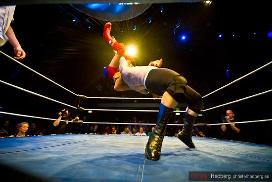 GBG Wrestling: Don Kalif vs Manimal. Foto: Christer Hedberg | christerhedberg.se