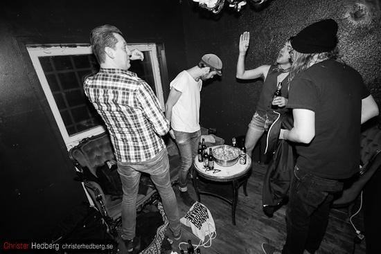 Trubbel backstage @ Truckstop Alaska. Foto: Christer Hedberg | christerhedberg.se