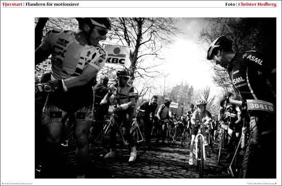 Flandern Runt @ Kadens. Foto: Christer Hedberg | christerhedberg.se