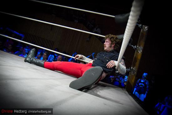 GBG Wrestling: Conny Mejsel vs Andersson. Foto: Christer Hedberg | christerhedberg.se