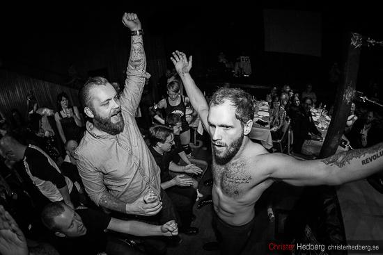 GBG Wrestling: Hank Havoc vs Killer Karlsson. Foto: Christer Hedberg | <img src=
