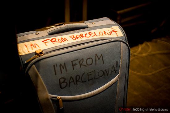 I'm from Barcelona. Foto: Christer Hedberg | christerhedberg.se