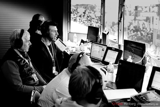 Giro d'Italia: Anders och Roberto. Foto: Christer Hedberg | christerhedberg.se