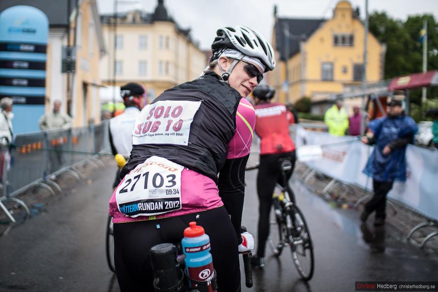 Vätternrundan 2012: Karin Linnerström. Foto: Christer Hedberg | christerhedberg.se