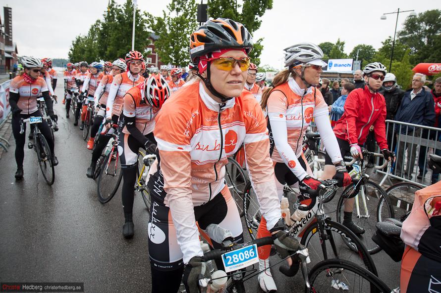 Vätternrundan 2012: Starten för SubXX. Foto: Christer Hedberg | christerhedberg.se