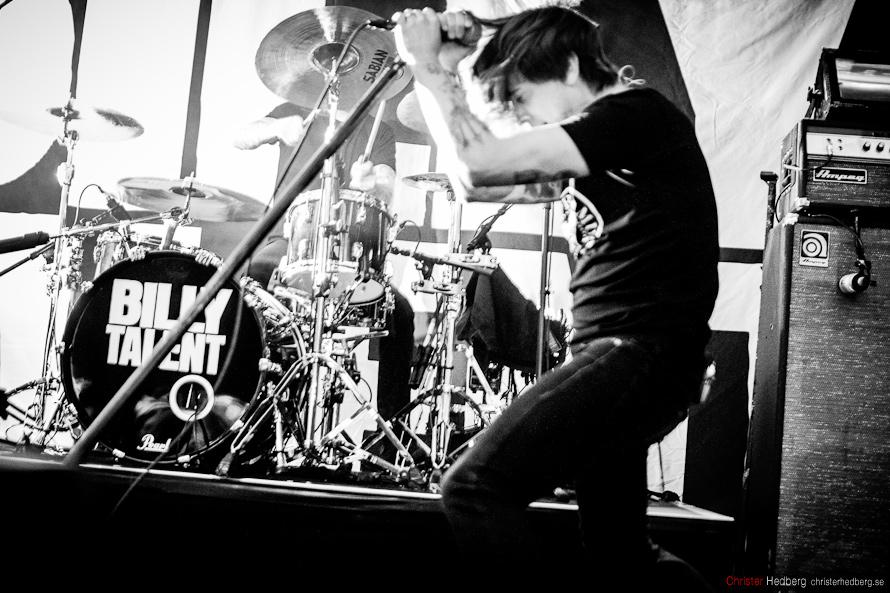 Billy Talent på Brewhouse. Foto: Christer Hedberg | christerhedberg.se