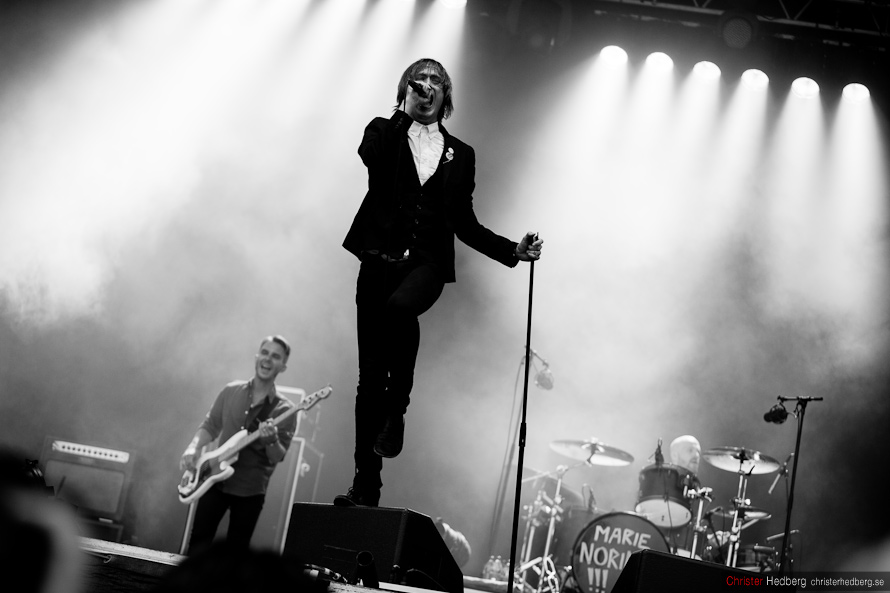 Way Out West '12: Refused. Photo: Christer Hedberg | christerhedberg.se