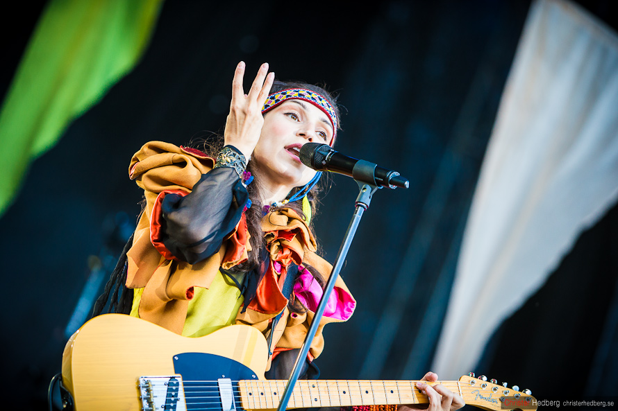Way Out West '12: Laleh. Photo: Christer Hedberg | christerhedberg.se