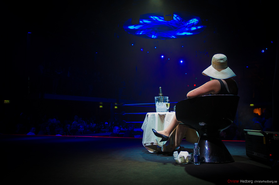 GBG Wrestling: Lady Dolores. Photo: Christer Hedberg | christerhedberg.se