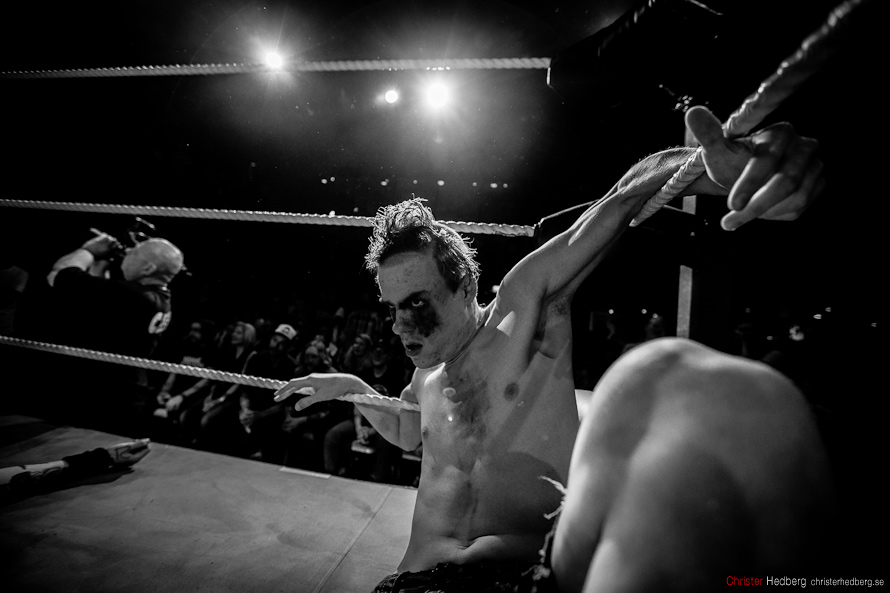 GBg Wrestling: Masters of the Mystical Arts vs Nifelwarg & Teen Wolf. Photo: Christer Hedberg   christerhedberg.se