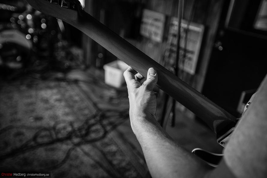 Moonlight Wranglers recording at Welfare Sounds Studio. Photo: Christer Hedberg | christerhedberg.se