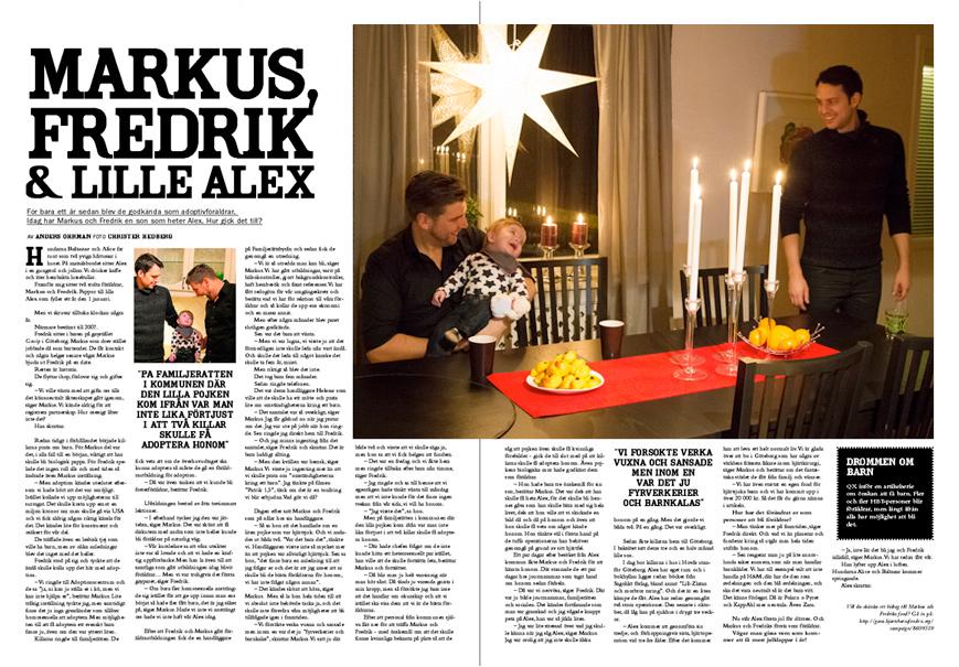 Fredrik och lille Alex. Photo: Christer Hedberg | christerhedberg.se
