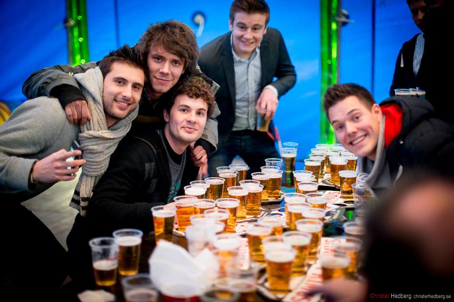 Ronde van Vlaanderen '13: The beer table