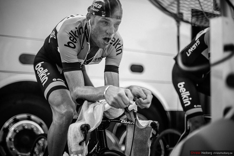 Tour de France 2013: Warming up. Photo: Christer Hedberg | christerhedberg.se
