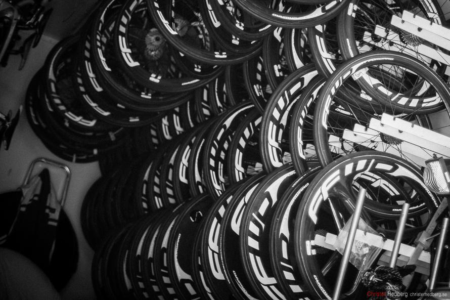 Tour de France 2013: The mechanic. Photo: Christer Hedberg | christerhedberg.se