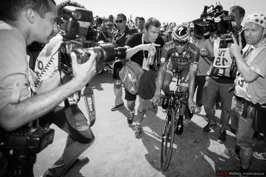 Tour de France 2013: Contador. Photo: Christer Hedberg | christerhedberg.se