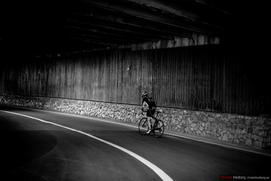 Tour de France 2013: The Alpe d'Huez tunnel. Photo: Christer Hedberg   christerhedberg.se