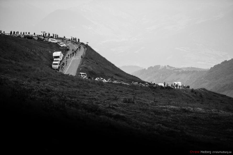 Tour de France 2013: The descent. Photo: Christer Hedberg | christerhedberg.se
