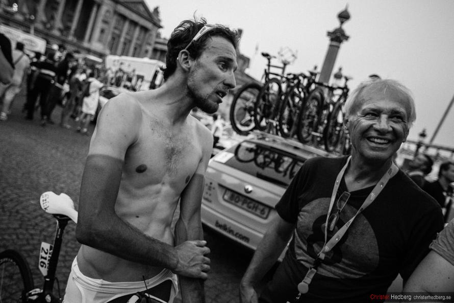Tour de France 2013: Tour de France 2013: Jean-Marc Marino. Photo: Christer Hedberg | christerhedberg.se